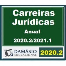 CARREIRAS JURÍDICAS - ANUAL EXTENSIVO – DAMÁSIO - 2020.2 / 2021