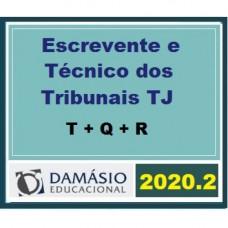 ESCREVENTE E TÉCNICO DOS TRIBUNAIS TJs - DAMÁSIO 2020.2