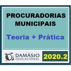 PROCURADORIAS ESTADUAIS E MUNICIPAIS - DAMÁSIO 2020.2 - TEORIA + PRÁTICA