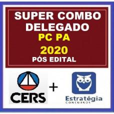 COMBO PC PA - DELEGADO DA POLÍCIA CIVIL DO PARÁ - PCPA - CERS + ESTRATÉGIA - PÓS EDITAL