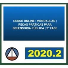 PEÇAS PRÁTICAS - DEFENSORIA PÚBLICA - CERS 2020.2 - REVISADO E ATUALIZADO - 2ª FASE