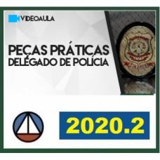 PEÇAS PRÁTICAS - DELEGADO DE POLÍCIA - CERS 2020.2 - REVISADO E ATUALIZADO - 2ª FASE