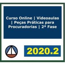 PEÇAS PRÁTICAS - PROCURADORIAS - CERS 2020.2 - REVISADO E ATUALIZADO - 2ª FASE