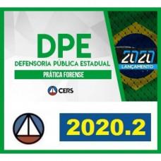 PRÁTICA FORENSE - DEFENSORIA PÚBLICA - CERS 2020.2 - REVISADO E ATUALIZADO