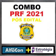 COMBO - PRF - POLÍCIA RODOVIÁRIA FEDERAL - ALFACON + ESTRATÉGIA 2021 - PÓS EDITAL