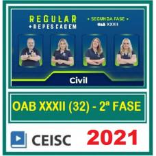 OAB - 2ª (segunda) Fase XXXII (32º Exame) DIREITO CIVIL - CEISC 2021