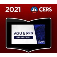 AGU e PFN - ADVOGADO DA UNIÃO E PROCURADOR DA FAZENDA NACIONAL - CERS 2021