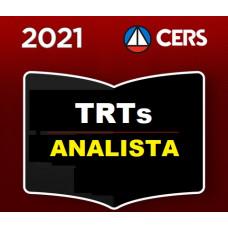 ANALISTA JUDICIÁRIO DE TRIBUNAIS DO TRABALHO - CERS 2021