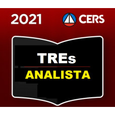 ANALISTA JUDICIÁRIO DE TRIBUNAIS ELEITORAIS - CERS 2021