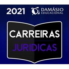CARREIRAS JURÍDICAS - COMPLETO + COMPLEMENTARES - DAMÁSIO 2021