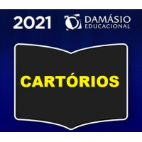 CURSO PREPARATÓRIO PARA CONCURSOS DE CARTÓRIOS - (CARTÓRIO) - DAMÁSIO 2021