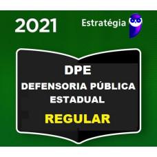 DEFENSOR PÚBLICO - DEFENSORIA PÚBLICA ESTADUAL - REGULAR - ESTRATÉGIA 2021