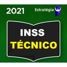 INSS - TÉCNICO DO SEGURO SOCIAL - PACOTE COMPLETO - ESTRATEGIA 2021
