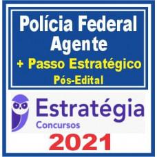 AGENTE DA PF (POLICIA FEDERAL) TEORIA + PASSO ESTRATÉGICO - PÓS EDITAL - ESTRATEGIA 2021