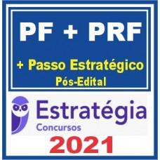 COMBO - AGENTE DA PF + PRF - TEORIA + PASSO ESTRATÉGICO - PÓS EDITAL - ESTRATEGIA 2021