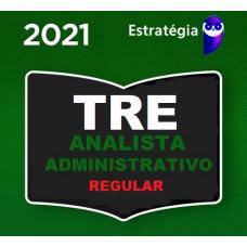 ANALISTA JUDICIÁRIO (ÁREA ADMINISTRATIVA) DE TRIBUNAIS ELEITORAIS - TRE - CURSO REGULAR - ESTRATÉGIA - 2021