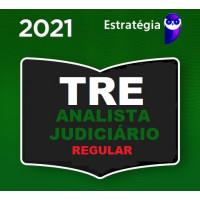 ANALISTA JUDICIÁRIO (ÁREA JUDICIÁRIA) DE TRIBUNAIS ELEITORAIS - TRE - CURSO REGULAR - ESTRATÉGIA - 2021