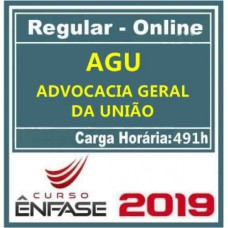 ADVOCACIA GERAL DA UNIÃO (AGU) ÊNFASE 2019