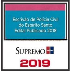 PC ES (ESCRIVÃO) PÓS EDITAL - SUPREMO 2019
