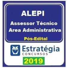 ALEPI - ASSESSOR TÉCNICO - ÁREA ADMINISTRATIVA - ASSEMBLEIA LEGISLATIVA PIAUÍ- ESTRATÉGIA 2019 - PÓS EDITAL