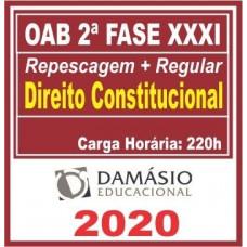 2ª (segunda) Fase OAB XXXI (31º Exame) DIREITO CONSTITUCIONAL - DAMÁSIO 2020