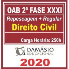 2ª (segunda) Fase OAB XXXI (31º Exame) DIREITO CIVIL - DAMÁSIO 2020