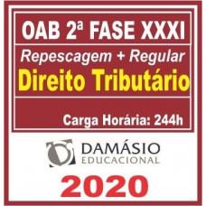 2ª (segunda) Fase OAB XXXI (31º Exame) DIREITO TRIBUTÁRIO - DAMÁSIO 2020