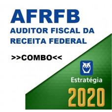COMBO AFRFB  - AUDITOR FISCAL DA RECEITA FEDERAL - TEORIA + PASSO ESTRATÉGICO - ESTRATÉGIA 2020