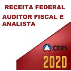RECEITA FEDERAL - AUDITOR  E ANALISTA TRIBUTÁRIO (CERS 2020)