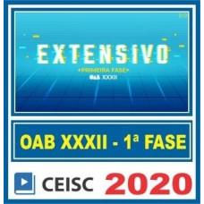 CURSO PARA 1ª Fase OAB XXXII (32) EXTENSIVO CEISC 2020