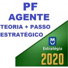 AGENTE DA PF (POLICIA FEDERAL) TEORIA + PASSO ESTRATÉGICO - ESTRATEGIA 2020