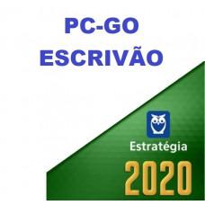 ESCRIVÃO - PC GO ( POLÍCIA CIVIL DE GOIÁS - PCGO ) - ESTRATEGIA 2020