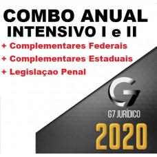 CURSO ANUAL COMPLETO (MÓDULO I E II + LPE + COMPLEMENTARES) - G7 JURÍDICO 2020