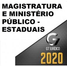MAGISTRATURA E MINISTÉRIO PÚBLICO ESTADUAIS - G7 JURÍDICO 2020