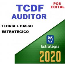 TCDF - AUDITOR DE CONTROLE EXTERNO - TEORIA + PASSO ESTRATÉGICO - PÓS EDITAL- ESTRATEGIA 2020
