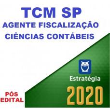 TCM SP - AGENTE DE FISCALIZAÇÃO - CIÊNCIAS CONTÁBEIS - ESTRATEGIA 2020 - PÓS EDITAL