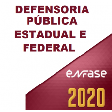 Defensoria Estadual E Federal (ENFASE 2020) DPU DPE