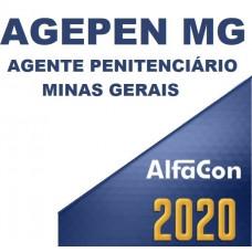 AGEPEN MG - AGENTE PENITENCIÁRIO 2020 - ALFACON