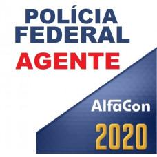 PF - AGENTE DA POLÍCIA FEDERAL 2020 - ALFACON