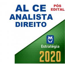 AL CE - ANALISTA LEGISLATIVO (DIREITO) DA ASSEMBLÉIA LEGISLATIVA DO CEARÁ ALCE - ESTRATÉGIA 2020 - PÓS EDITAL