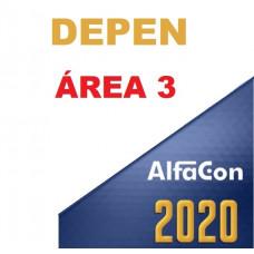 DEPEN - ÁREA 3 - AGENTE PENITENCIÁRIO FEDERAL  - ALFACON 2020