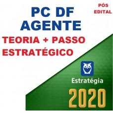 AGENTE PC DF - PÓS EDITAL 2020 - CURSO PARA AGENTE DA POLICIA CIVIL DO DISTRITO FEDERAL - PCDF - PÓS EDITAL - ESTRATEGIA - 2020