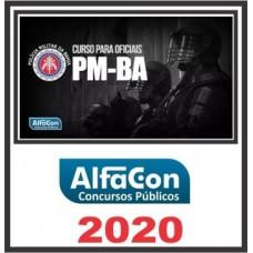 OFICIAL PM BA (POLICIA MILITAR DA BAHIA - PMBA) ALFACON 2020