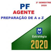 AGENTE DA PF (POLICIA FEDERAL) - 2020 - Pré-Edital (Preparação de A a Z)